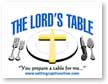 Feast at The Lord's Table